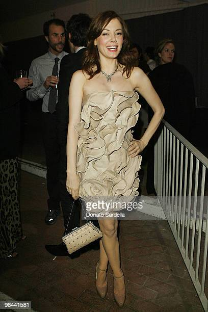 """Actress Rose Mcgowan attends The Art of Elysium's 3rd Annual Black Tie Charity Gala """"Heaven"""" on January 16, 2010 in Beverly Hills, California."""