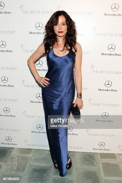 Actress Rose McGowan attends The Art of Elysium's 7th Annual HEAVEN Gala presented by Mercedes-Benz at Skirball Cultural Center on January 11, 2014...