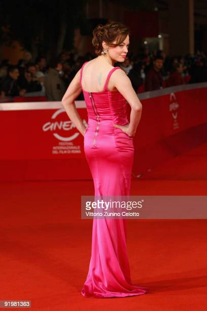 Actress Rose McGowan attends 'The Imaginarium Of Doctor Parnassus' Premiere during day 4 of the 4th Rome International Film Festival held at the...