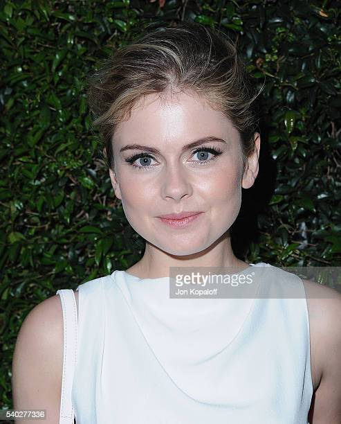 Actress Rose McIver arrives at Max Mara Celebrates Natalie DormerThe 2016 Women In Film Max Mara Face Of The Future at Chateau Marmont on June 14...