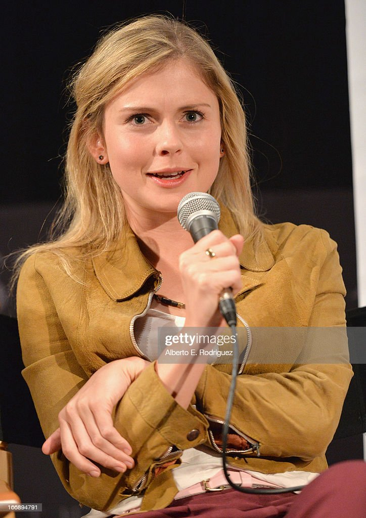 Actress Rose McIver attends Australians In Film's screening of Revival Film Company's 'Blinder' at Los Angeles Film School on April 17, 2013 in Los Angeles, California.