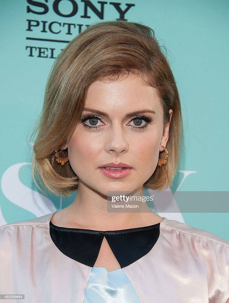 Actress Rose McIver attends Showtime's 'Masters Of Sex' Season 2 - 2014 Summer TCA Press Tour Event at Sony Pictures Studios on July 16, 2014 in Culver City, California.