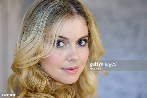 Actress Rose McIver attends the AOL Build Speaker Series to discuss iZombie at AOL Studios In New York on April 12 2016 in New York City