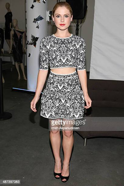 Actress Rose McIver attends the BCBGMAXAZRIA 'Living the Bon Chic Life' 25th Anniversary Retrospective Celebration at BCBG Max Azria Group LLC...