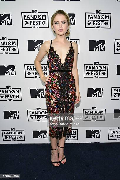 Actress Rose McIver attends the MTV Fandom Awards San Diego at PETCO Park on July 21 2016 in San Diego California