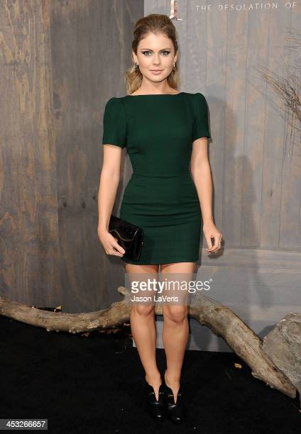 Actress Rose McIver attends the premiere of 'The Hobbit The Desolation Of Smaug' at TCL Chinese Theatre on December 2 2013 in Hollywood California