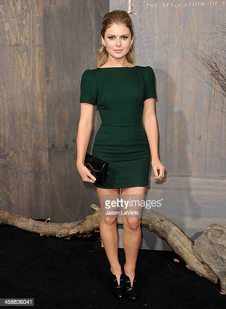Actress Rose McIver attends the premiere of The Hobbit The Desolation Of Smaug at TCL Chinese Theatre on December 2 2013 in Hollywood California