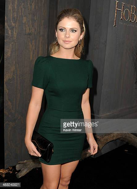 Actress Rose McIver attends the premiere of Warner Bros' The Hobbit The Desolation of Smaug at TCL Chinese Theatre on December 2 2013 in Hollywood...