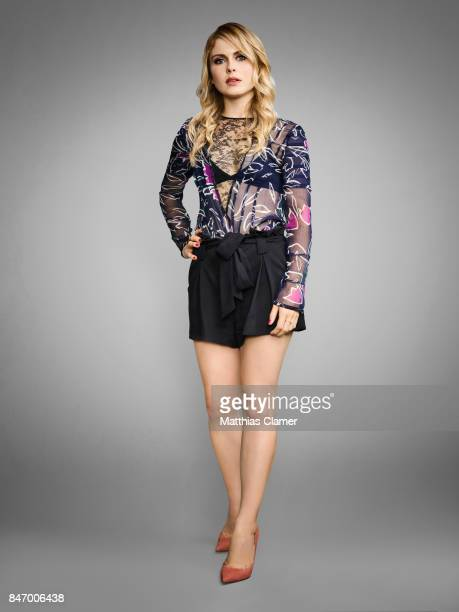 Actress Rose McIver from 'iZombie' is photographed for Entertainment Weekly Magazine on July 22 2016 at Comic Con in the Hard Rock Hotel in San Diego...