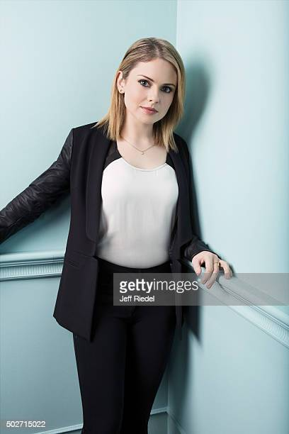 Actress Rose McIver is photographed for TV Guide Magazine on January 17 2015 in Pasadena California