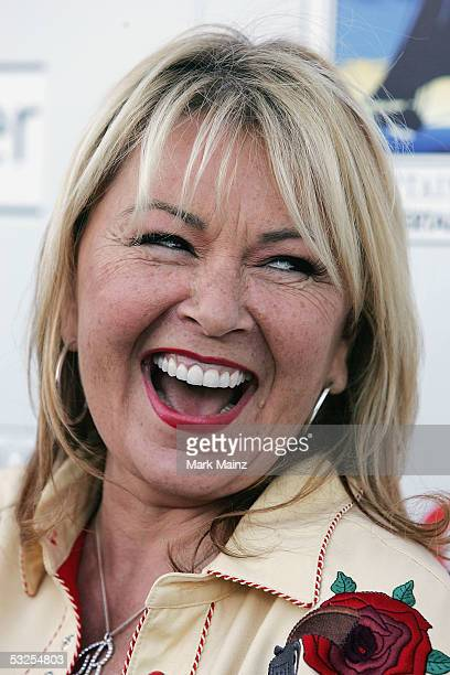 Actress Roseanne attends the DVD launch of Roseanne Season One July 18 2005 at Lucky Strike Bowling Centre in Los Angeles California