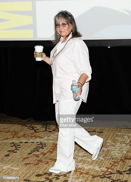 Actress Roseanne Barr attends Comedy Legends of TV Land panel during ComicCon International 2013 at the Hilton San Diego Bayfront Hotel on July 18...