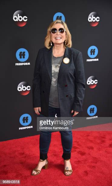 Actress Roseanne Barr attends during 2018 Disney, ABC, Freeform Upfront at Tavern On The Green on May 15, 2018 in New York City.