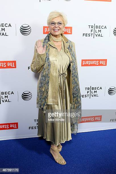 Actress Roseanne Barr attends the 2015 Tribeca Film Festival LA Kickoff Reception at The Standard Hollywood on March 23 2015 in West Hollywood...