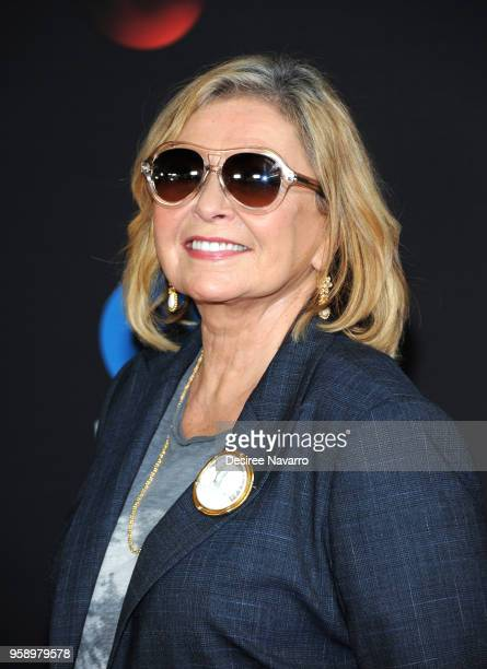 Actress Roseanne Barr attends the 2018 Disney ABC Freeform Upfront on May 15 2018 in New York City