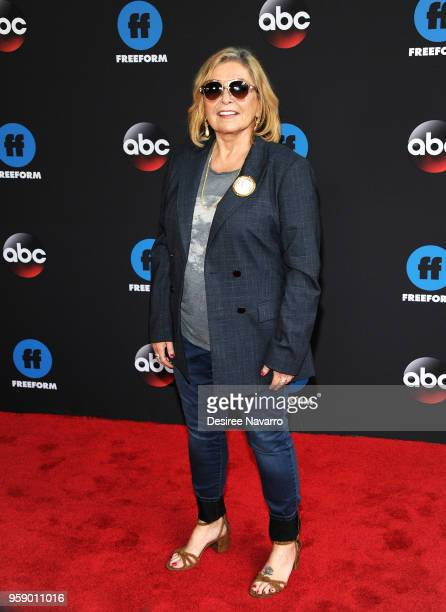 Actress Roseanne Barr attends the 2018 Disney, ABC, Freeform Upfront on May 15, 2018 in New York City.