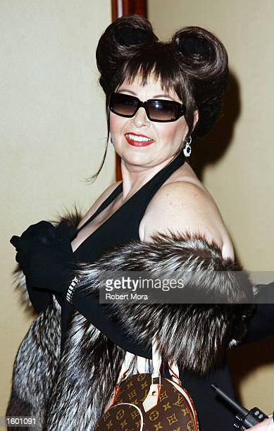 Actress Roseanne Barr attends the 47th Annual Thalians Ball honoring actress Phyllis Diller at the Century Plaza Hotel on November 9 2002 in Century...
