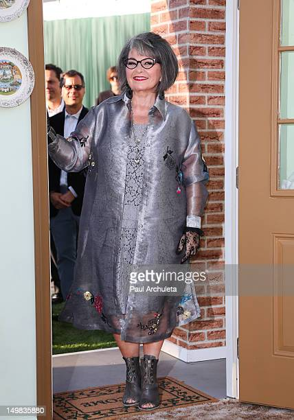 Actress Roseanne Barr attends the Comedy Central Roast of Roseanne Barr at Hollywood Palladium on August 4 2012 in Hollywood California