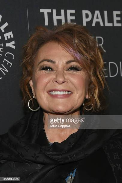 Actress Roseanne Barr attends The Paley Center For Media presents An evening with Roseanne at The Paley Center for Media on March 26 2018 in New York...