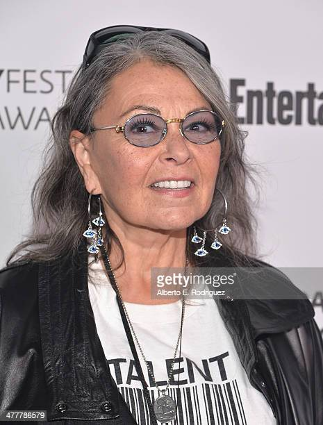 Actress Roseanne Barr attends The Paley Center For Media's 2014 PaleyFest Icon Award announcement at The Paley Center for Media on March 10 2014 in...