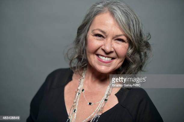 Actress Roseanne Barr poses for a portrait during the 2014 NBCUniversal Summer Press Day at The Langham Huntington on April 8, 2014 in Pasadena,...