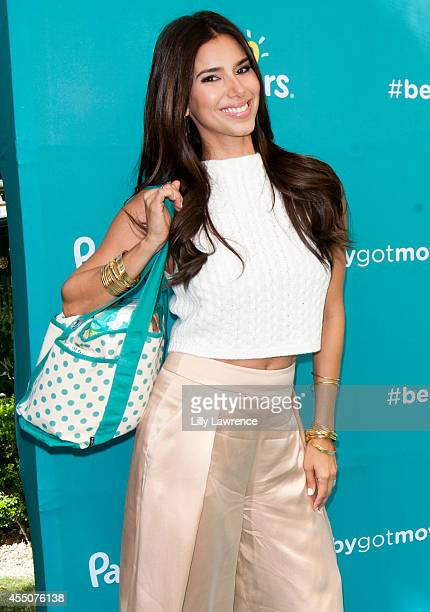 Actress Roselyn Sanchez arrives at her launch of 'BabyGotMoves' Campaign at The Grove on September 9 2014 in Los Angeles California