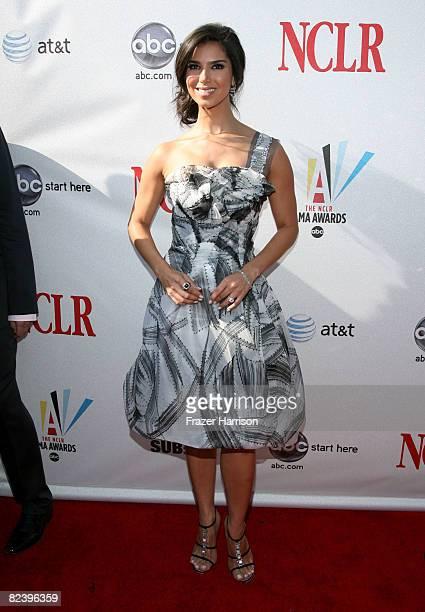 Actress Roselyn Sanchez arrives at the 2008 ALMA Awards at the Pasadena Civic Auditorium on August 17 2008 in Pasadena California