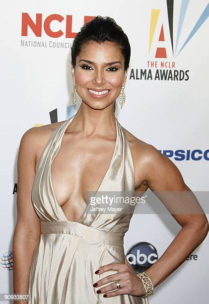 Actress Roselyn Sanchez arrives at the 2009 ALMA Awards at Royce Hall on the UCLA Campus on September 17 2009 in Westwood Los Angeles California