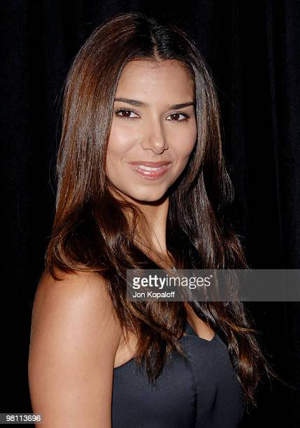 Actress Roselyn Sanchez arrives at the DIC/InStyle's 9th Annual Awards Season Diamond Fashion Show Preview at Beverly Hills Hotel on January 14 2010...