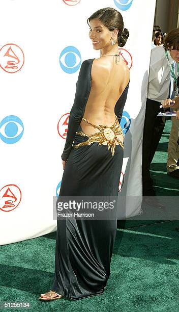 Actress Roselyn Sanchez attends the 5th Annual Latin Grammy Awards held on September 1 2004 at the Shrine Auditorium in Los Angeles California