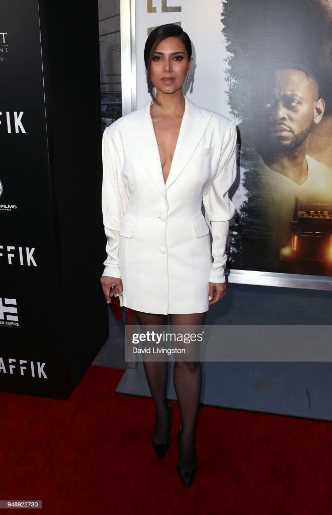 Actress Roselyn Sanchez attends the premiere of Codeblack Films' 'Traffik' at ArcLight Hollywood on April 19, 2018 in Hollywood, California.