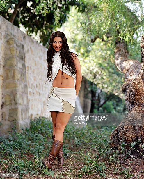 Actress Roselyn Sanchez is photographed for Latina Magazine in 2002