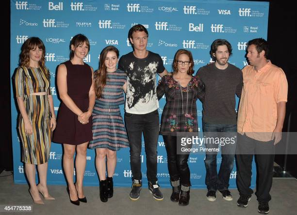 Actress Rosemarie DeWitt actress Jennifer Garner actress Kaitlyn Dever actor Ansel Elgort screenwriter Erin Cressida Wilson director Jason Reitman...