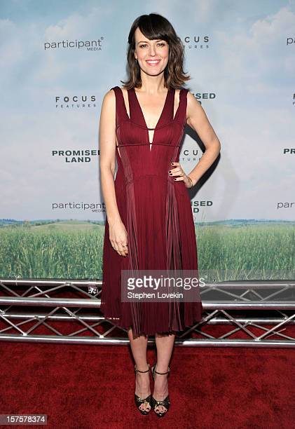 Actress Rosemarie Dewitt attends Promised Land premiere at AMC Loews Lincoln Square 13 theater on December 4 2012 in New York City