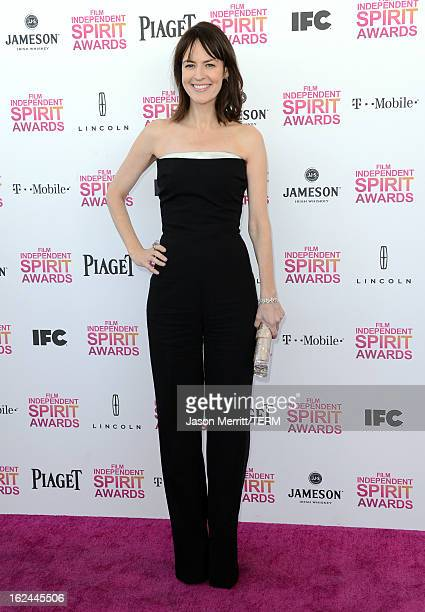 Actress Rosemarie DeWitt attends the 2013 Film Independent Spirit Awards at Santa Monica Beach on February 23 2013 in Santa Monica California
