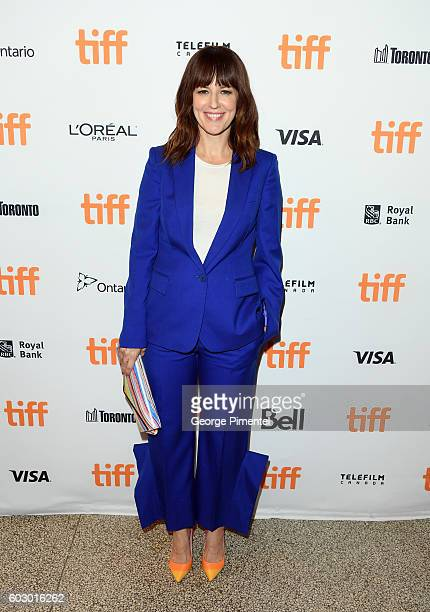 Actress Rosemarie DeWitt attends the Jackie premiere during the 2016 Toronto International Film Festival at Winter Garden Theatre on September 11...