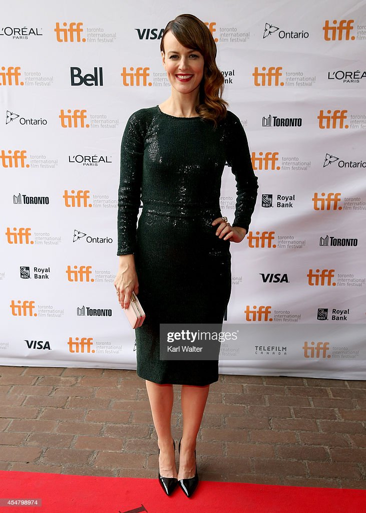 Actress Rosemarie DeWitt attends the 'Men, Women & Children' Premiere during the 2014 Toronto International Film Festival at Ryerson Theatre on September 6, 2014 in Toronto, Canada.
