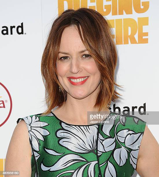 Actress Rosemarie DeWitt attends the premiere of Digging For Fire at ArcLight Cinemas on August 13 2015 in Hollywood California