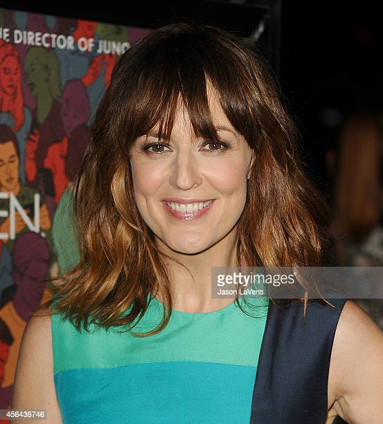 Actress Rosemarie DeWitt attends the premiere of Men Women and Children at DGA Theater on September 30 2014 in Los Angeles California
