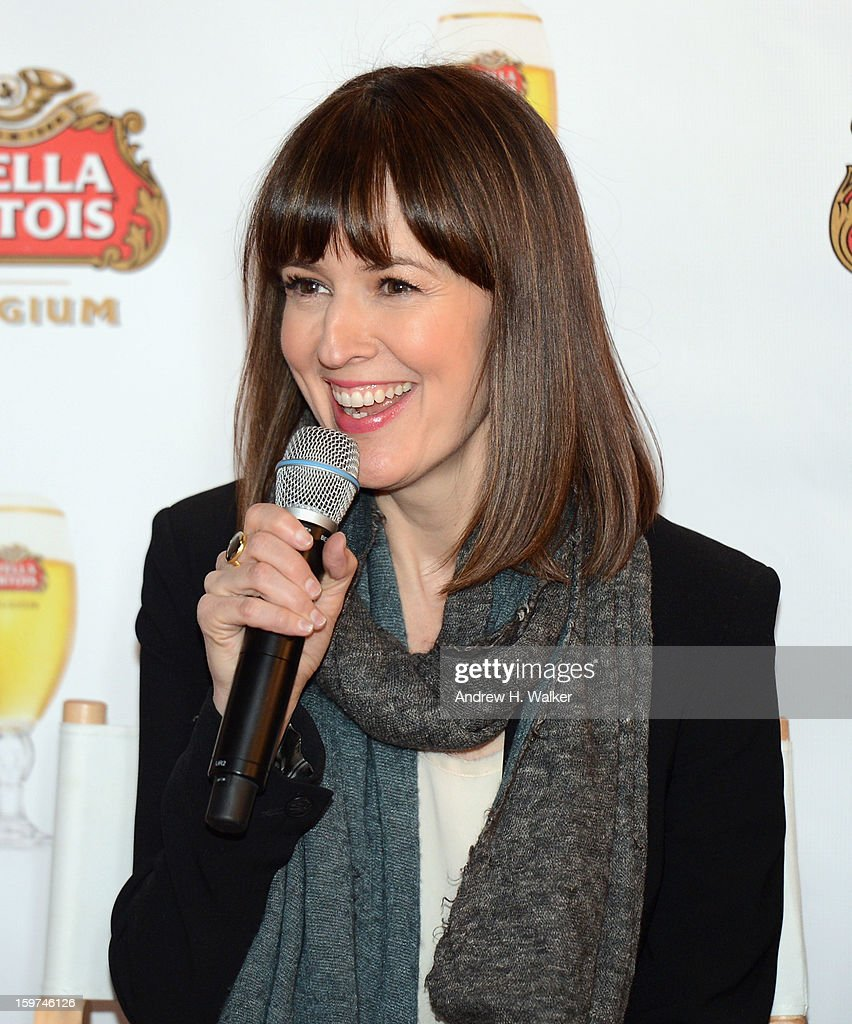Actress Rosemarie DeWitt attends the Stella Artois press junket for Sundance Film 'Touchy Feely' at Village at the Lift on January 19, 2013 in Park City, Utah.