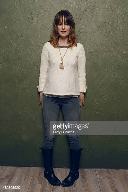 Actress Rosemarie DeWitt of Digging for Fire poses for a portrait at the Village at the Lift Presented by McDonald's McCafe during the 2015 Sundance...