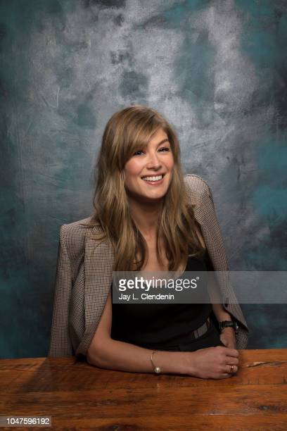 Actress Rosemund Pike, from 'A Private War' is photographed for Los Angeles Times on September 11, 2018 in Toronto, Ontario. PUBLISHED IMAGE. CREDIT...