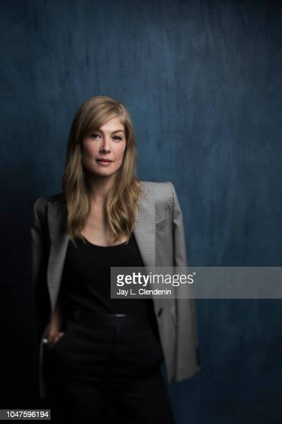 Actress Rosemund Pike from 'A Private War' is photographed for Los Angeles Times on September 11 2018 in Toronto Ontario PUBLISHED IMAGE CREDIT MUST...