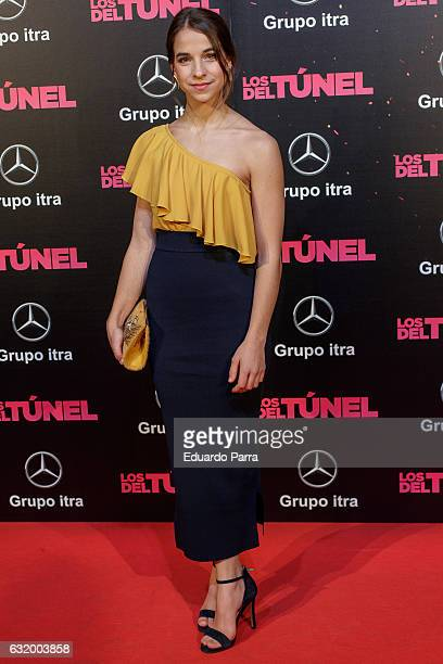 Actress Roser Vilajosana attends 'Los del Tunel' premiere at Capitol cinema on January 18 2017 in Madrid Spain