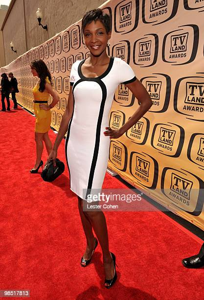 Actress Roshumba Williams arrives at the 8th Annual TV Land Awards at Sony Studios on April 17 2010 in Los Angeles California