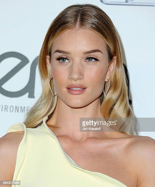 Actress Rosie HuntingtonWhiteley arrives at Environmental Media Association Hosts Its 25th Annual EMA Awards Presented By Toyota And Lexus at Warner...