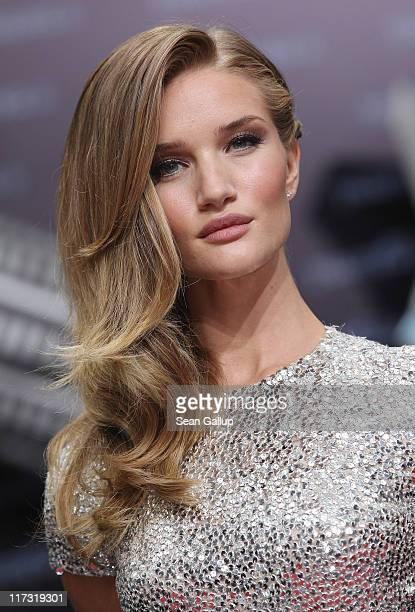 Actress Rosie HuntingtonWhiteley attends the 'Transformers 3' European premiere on June 25 2011 in Berlin Germany