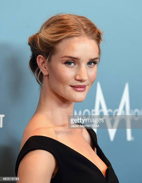 Actress Rosie HuntingtonWhiteley attends Variety's Power Of Women Luncheon at the Beverly Wilshire Four Seasons Hotel on October 9 2015 in Beverly...