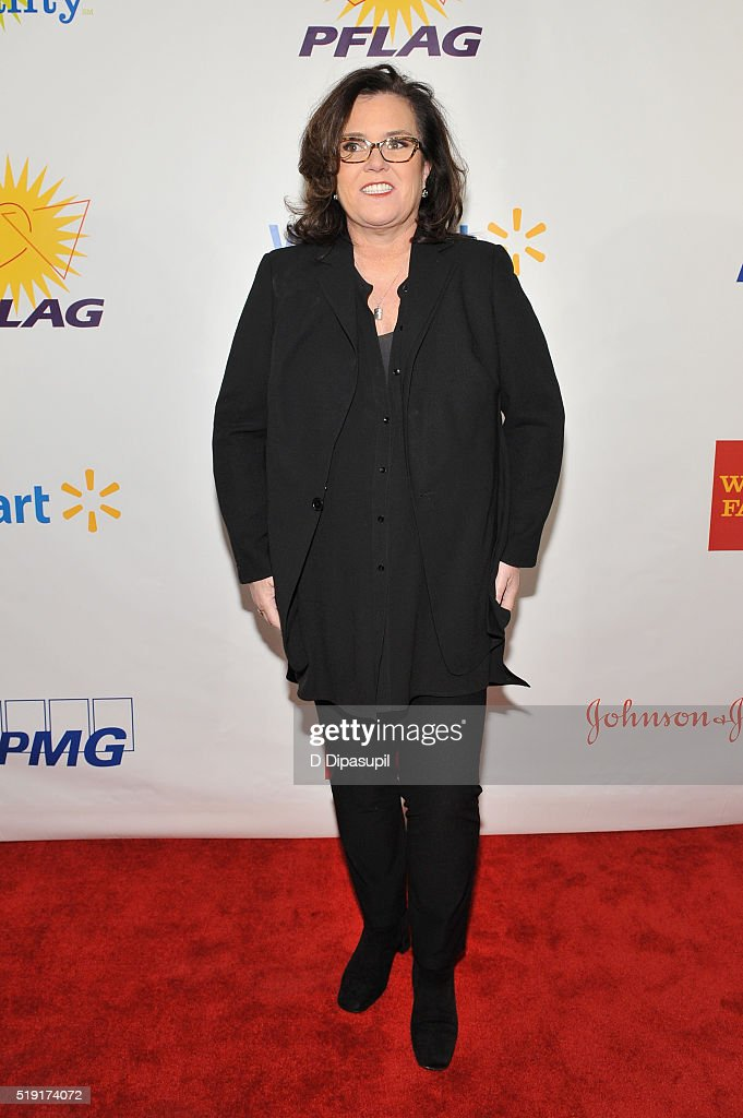 Actress Rosie O'Donnell attends PFLAG National's eighth annual Straight for Equality awards gala at Marriot Marquis on April 4, 2016 in New York City.