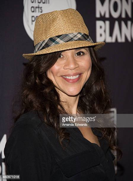 Actress Rosie Perez arrives at the afterparty for the 4th annual production of The 24 Hour Plays In Los Angeles benefitting Urban Arts Partnership at...